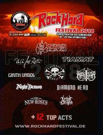 Rock Hard 2018 (Poster)
