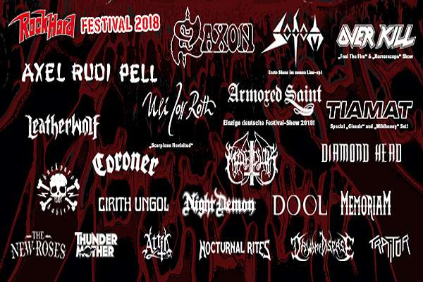 Rock Hard Festival 2018 - Final Lineup!