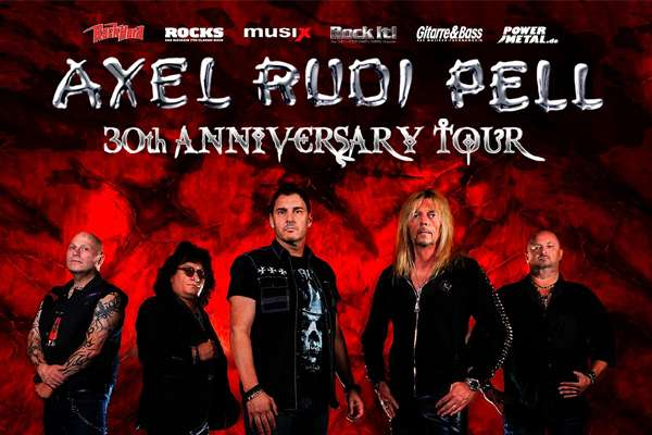 AXEL RUDI PELL announced 30th anniversary shows in 2019!