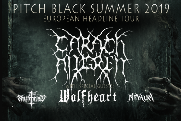 "Carach Angren have announced the ""Pitch Black Summer 2019"" Tour!"
