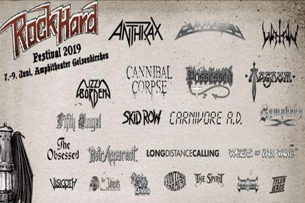 Rock Hard Festival 2019 - Final Lineup!