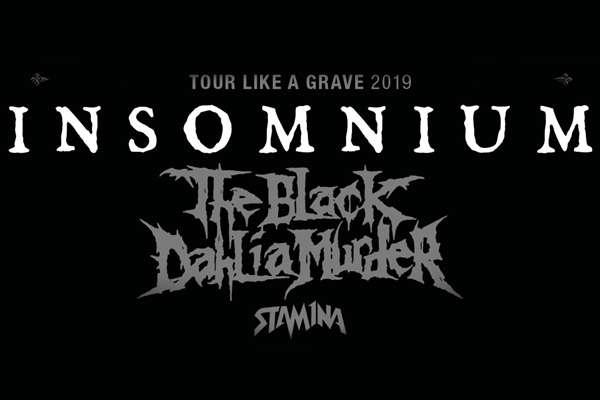 INSOMNIUM announce their TOUR LIKE A GRAVE 2019