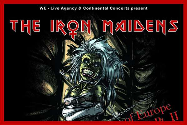The Iron Maidens announce their Piece Of Europe Tour Pt. II