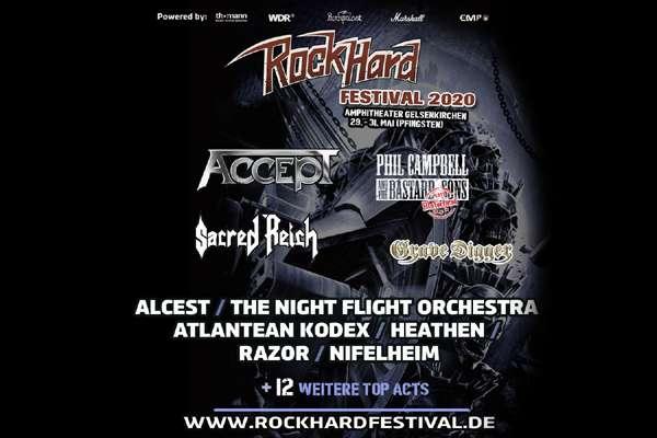 Rock Hard Festival 2020 - Neubestätigungen!