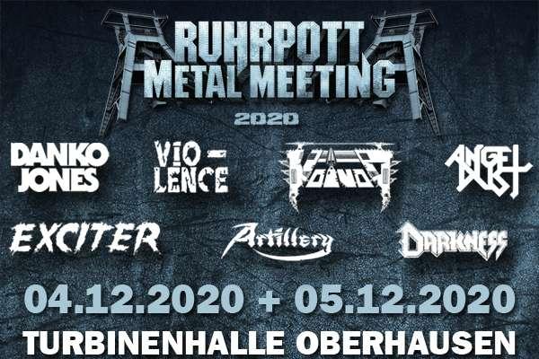 RUHRPOTT METAL MEETING - die ersten Bands sind bestätigt!